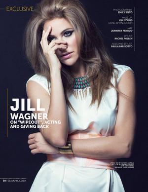 Jill Wagner – Glamoholic Magazine// March 2013