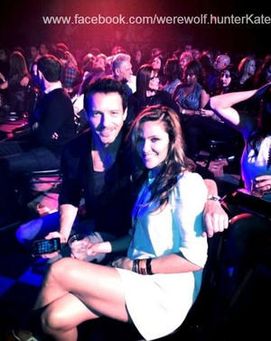 Jill Wagner and Ian Bohen