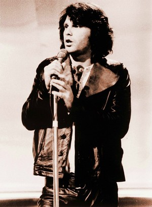Jim Morrison, Londres 1968