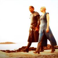 Jorah and Daenerys