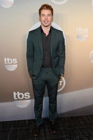 Josh Henderson attending the TBS / TNT Upfront 2014