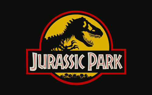 Nocturnal Mirage fond d'écran titled Jurassic Park Logo