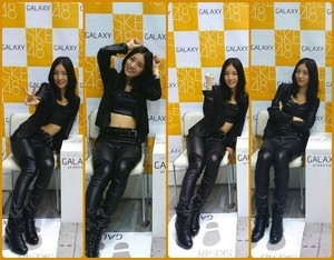 Jurina @ SKE48 X Samsung Galaxy 2-Shot Event