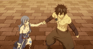 Juvia and Gray ♥