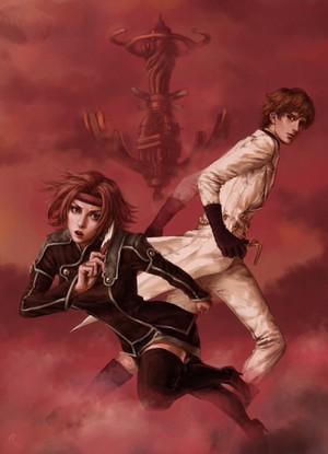 Kallen Stadtfeld and Suzaku Kururugi | Code Geass