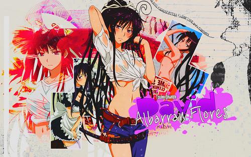 Sexy, hot anime and characters karatasi la kupamba ukuta probably containing anime titled Kanzaki Kaori