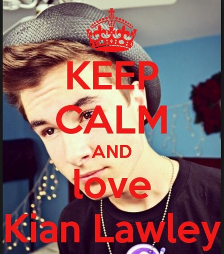 Kian Lawley wallpaper entitled Keep calm......