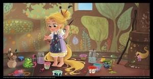 Kid Rapunzel