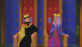 King Stefan and 퀸 Leah in Enchated Tales