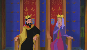 King Stefan and クイーン Leah in Enchated Tales