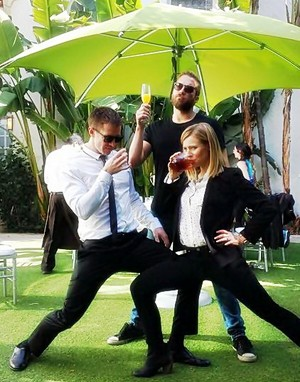 Kristen Bell, Jason Dohring, Ryan Hansen