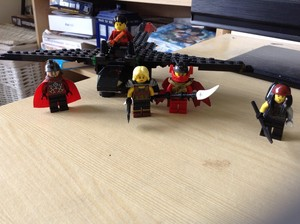 LEGO Hiccup, Astrid, Toothless, Valka, Stoick and Drago