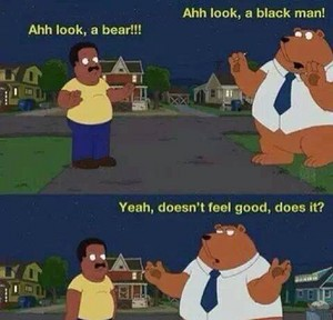 LMAO. Don't be mean to bears. They have feelings to
