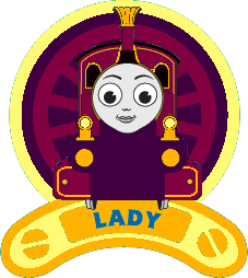 Thomas the Tank Engine Hintergrund probably containing Anime called Lady Badge