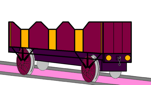 Tomy Thomas And Friends wallpaper titled Lady's Open-Topped Carriage