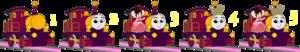 Lady & Princess Vanellope Number Step