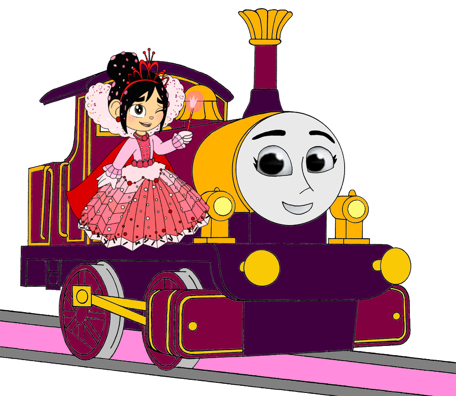 Lady with Princess Vanellope