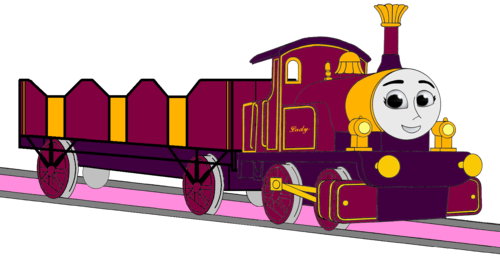 Thomas the Tank Engine wallpaper entitled Lady with her Open-Topped Carriage