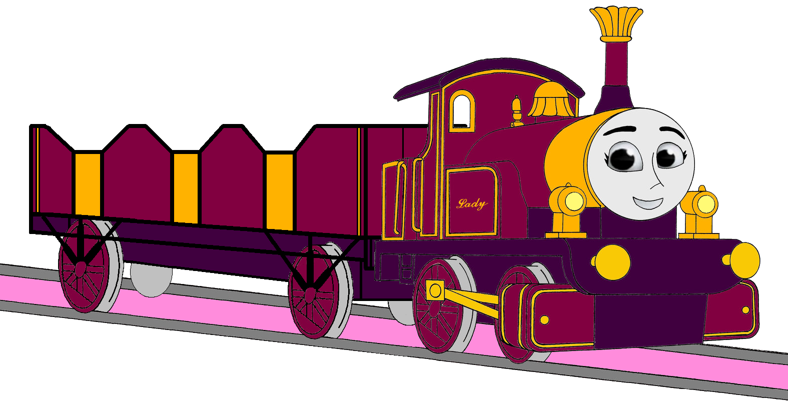 Tomy Thomas And Friends Images Lady With Her Open Topped