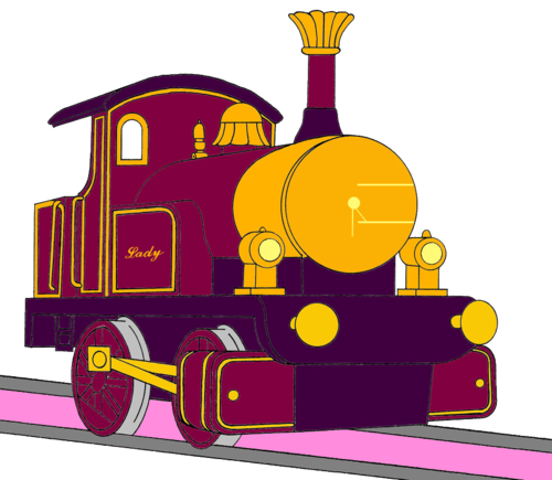Tomy Thomas And Friends wallpaper probably with anime titled Lady without her Face