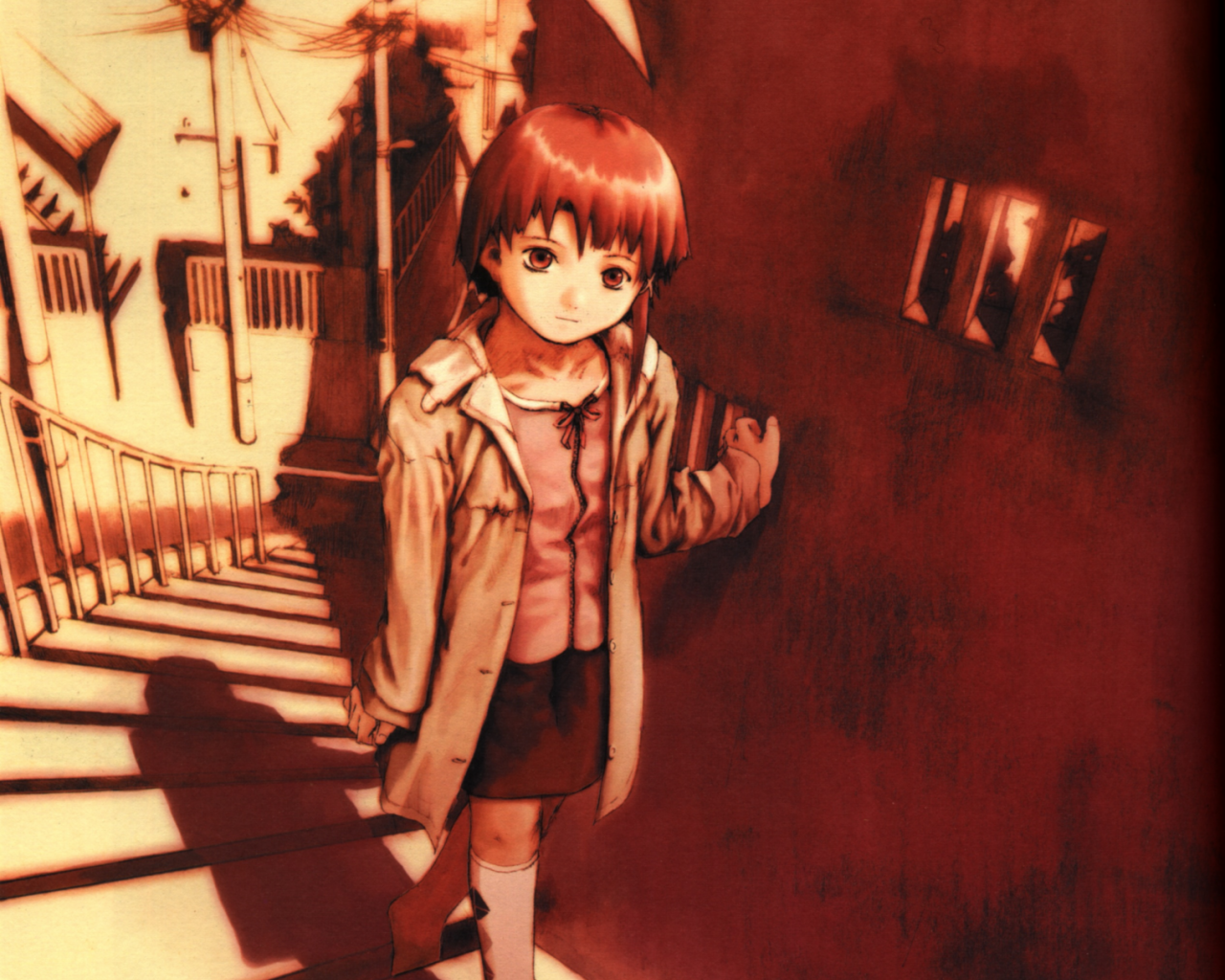 Lain Serial Experiments DVD Box Set Movie HD free download 720p