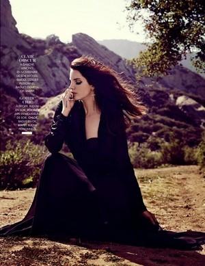 Lana Del Rey MADAME PHOTOSHOOT! 2014