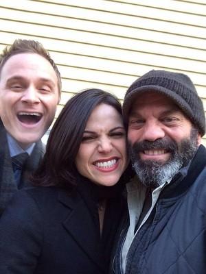 Lana, Lee, and David