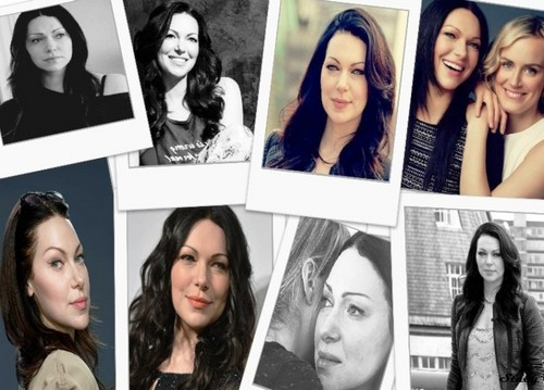 Laura Prepon wallpaper probably with a newspaper, a sign, and a portrait entitled Laura Prepon