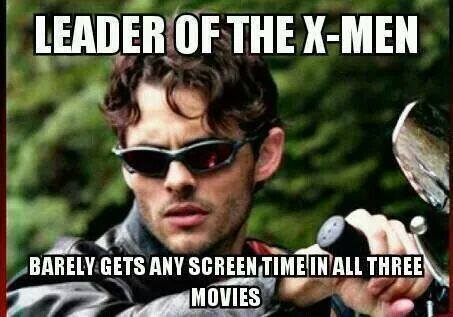 X-Men kertas dinding titled Leader of the X-men...