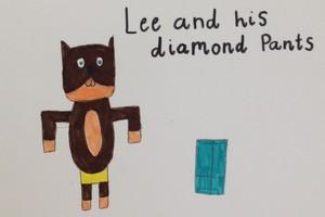 Lee and his diamond pants