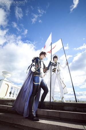 Lelouch vi Britannia and Suzaku Kururugi // Cosplay