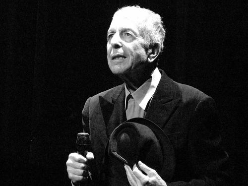 Leonard Cohen Обои containing a business suit titled Leonard Cohen