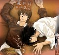 Light Yagami and L Lawliet - death-note photo