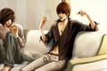 Light Yagami and এল-মৃত্যু পত্র Lawliet