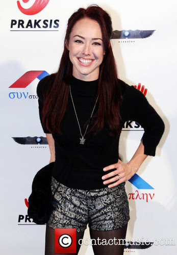 Lindsey McKeon वॉलपेपर probably containing a playsuit, a legging, and a hip boot called Lindsey McKeon