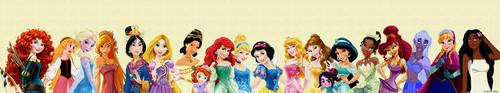 Moana foto called Lineup Disney Princess with Moana