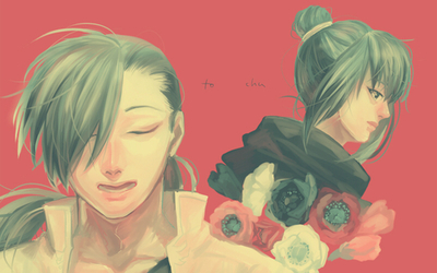 full metal alchemist couples fond d'écran probably containing a bouquet and a portrait entitled Ling Yao and LanFan