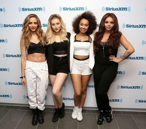 Little Mix at Sirius XM Studios today