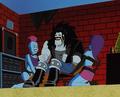 Lobo and Alien Robot Girls - dc-comics photo