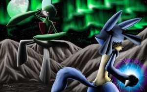 Lucario vs Gallade