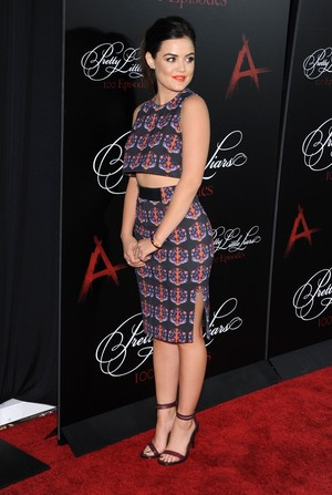 Lucy @ Pretty Little Liars 100th Episode Celebration - May 31st