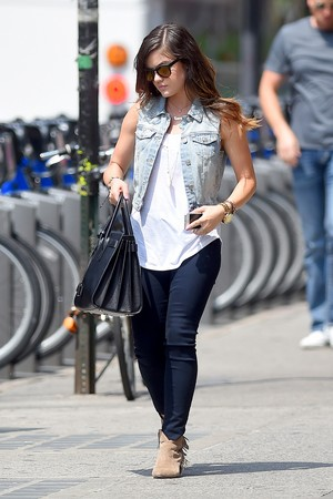 Lucy out in New York - July 2nd