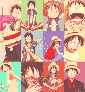 Luffy Moments