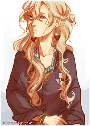 Luna Lovegood by Viria