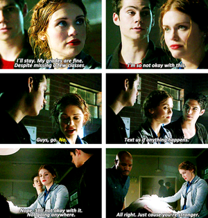 Lydia making her choice.