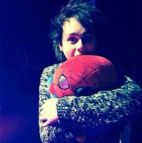 MIkey and Spiderman - 5sos Family Photo (37291885) - Fanpop