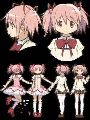 Madoka Kaname (Human and Magical Girl form)