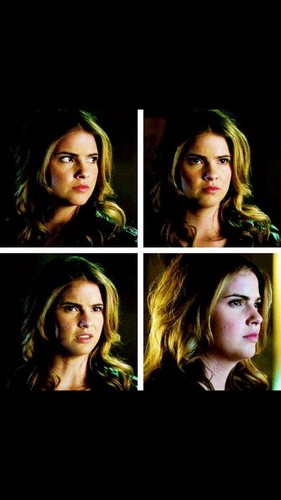 Malia Tate achtergrond containing a portrait called Malia not looking impressed