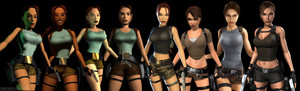 Many Changes of Lara Croft