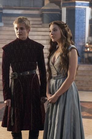 Margaery Tyrell and Joffrey Baratheon Season 3